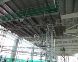 Ảnh thi công công trình nhà ga T2_ Nội Bài